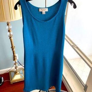 NWOT teal St. John dress size 4